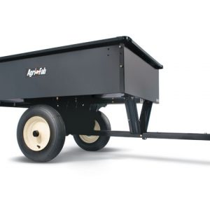 Lawn tractor trailers and accessories